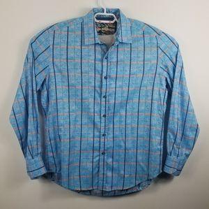 Robert Graham flip cuff shirt KANNAN classic fit